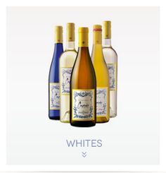 White wines!  -Chardonnay  -Riesling  -Blush/Rose -Moscato/sparkling