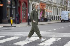 The khaki jumpsuit -