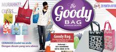 Produksi Goody bag - spundbond bag - go green bag - canvas bag - recycle bag - furing bag - goodie bag - tas kanvas - tas promosi Tangerang