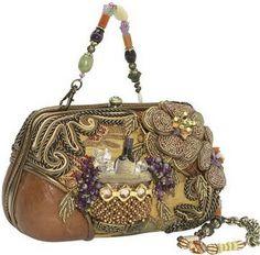Fabulous beaded Handbags | Mary Frances Handbags Designer Bags Beaded Chain Clutch Purses