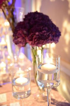 Wedding reception centerpiece idea; Featured Photographer: XO Andrea, Via By Yena Designs
