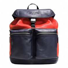 RUCKSACK IN SMOOTH LEATHER