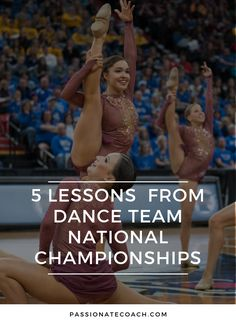 There's always a good lesson to be learned after a competition! dance team, dance competition, dance nationals, dance coach, pom, jazz, hip hop, kick, dance practice, #danceteam #dancecoach #dancecompetition