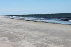 quiet beach....