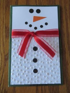 ~ Image only ....cute snowman card