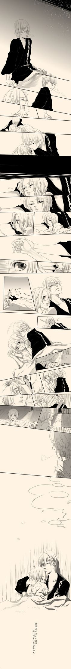 Young Gin and Rangiku - Bleach ---- awww this is so adorable ^^