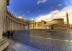 vatican piazza, vatican city