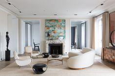 Living room design by Damien Langlois-Meurinne