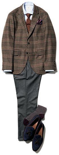 ファッション・ディレクターのジーン・クレールが毎月違ったテーマを選び、独自のファッションティップスとトレンド感を加えて、着こなし提案をするこのコーナー。ちょっとしたオシャレ心とジーンのスタイルテクニックでスマイルに満ちた毎日にしよう! 今回は英国発ブランド「ハケット ロンドン」の最新スタイルを紹介します。