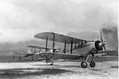 The Westland Wapiti had the distinction of being the first aircraft type to be put into production in South Africa. 27 were built here under licence. First flight 1927