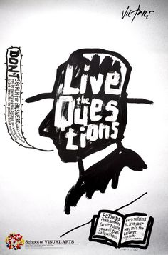 Rilke/Live the Question