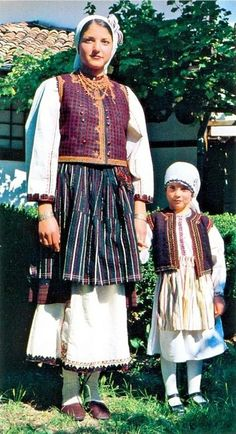 Капанска женска и детска носия