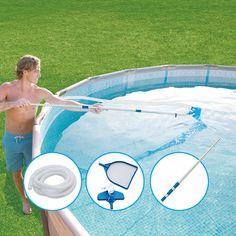 Intex 20 39 X 48 Round Ultra Frame Pool Set With 1 500 Gal Filter Pump Pool