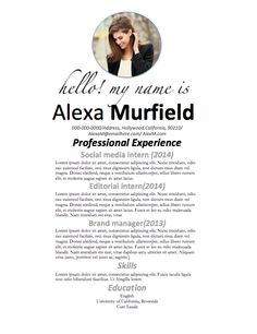 Resume And Cover Letter Template Instant Word By Careergirldesigns