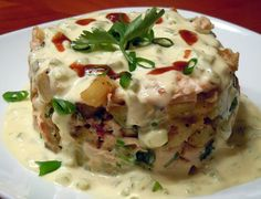 My take on Boby Flay's Sweet Potato Chicken Hash
