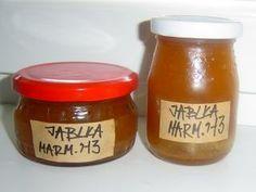 Jak udělat jablečnou marmeládu | recept | jaktak.cz Jar, Food, Syrup, Essen, Meals, Yemek, Jars, Eten, Glass