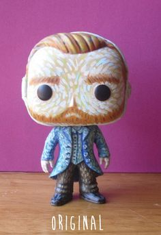 Vincent van Gogh custom Funko Pop. Hey, I found this really awesome Etsy listing at https://www.etsy.com/listing/244128198/vincent-van-gogh-starry-night-doctor-who