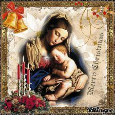 Vintage Mary Mother & Jezus Christmas Greeting Cards, Christmas Greetings, Photo Editor, Animation, Vintage, Couple Photos, Art, Couple Shots, Art Background