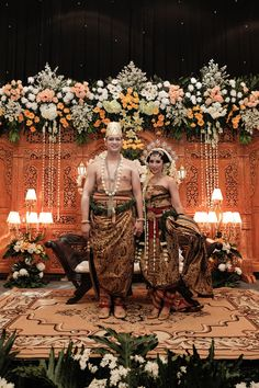Our Javanese traditional wedding ceremony