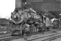Richard Leonard's New York Central Collection -- Boston & Albany Z-1 2-10-2 1102 (CNR 4202)
