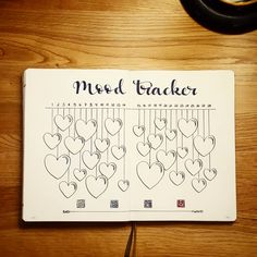February 2018 Mood Tracker @pagesbyleanne