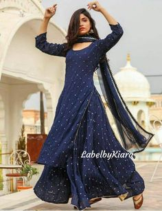 Indian Gowns Dresses, Indian Fashion Dresses, Dress Indian Style, Pakistani Dresses, Indian Outfits, Indian Dresses For Women, Indian Wedding Outfits, Pakistani Suits, Designer Party Wear Dresses