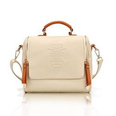 $11.30 Vintage Women's Tote With Solid Color and Coining Design