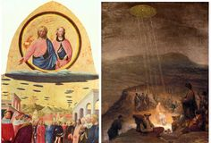 old biblical pictures with ufos in them | Secrets Committed to Canvas: A Tour Through the CT Gallery