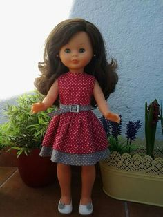 Nancy Doll, American Girl Accessories, Girl Dress Patterns, Girls Dresses, Summer Dresses, Barbie I, Girl Doll Clothes, Kids Wear, Dolls