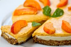 Very Tasty Raw Apricot Cake