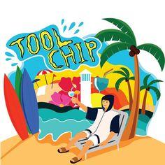 geco_officialYeah Tool Chip⛺️ #제코#툴칩#입고놀자#캠핑#서핑#수영#레져#여름#휴가#모두다#사용가능#일러스트#그림#geco#toolchip#camping#surf#swim#leisure#holiday#summer#anything