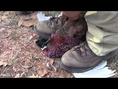 How to Field Dress a Pheasant in 10 Seconds, Hunting Skills - YouTube