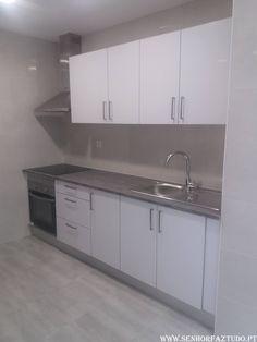 SENHOR FAZ TUDO - Faz tudo pelo seu lar !®: Remodelação da cozinha do apartamento de Paço D'arcos