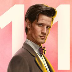 BBC release new Doctor Who portraits by Jeremy Enecio Arte Doctor Who, Undécimo Doctor, Doctor Who Meme, The New Doctor, Doctor Who Episodes, 13th Doctor, Doctor Who Quotes, Eleventh Doctor, Matt Smith Doctor Who