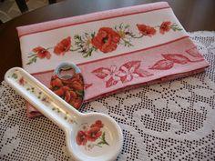 Asciugapiatti papaveri - regalo compleanno per Marija Zovkic