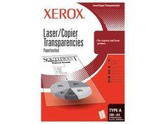 Xerox transparentní fólie pro mono kopírky a laser tiskárny (3R98199), 100 listů s podkladovým papírem 328 Kč včetně DPH