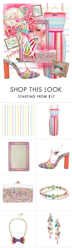 """""""lollipop"""" by traceyenorton ❤ liked on Polyvore featuring Jay Strongwater, Sophia Webster, Ashlyn'd, Ippolita and Betsey Johnson"""