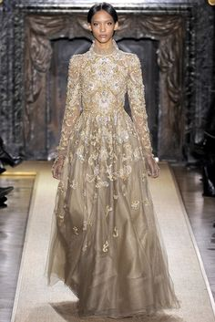 Valentino Spring 2012 Couture Fashion Show - Cora Emmanuel (OUI)