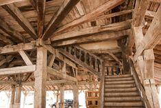 Markthal Villerèal Frankrijk dorp Bastide hout Lot Aquitaine, House Styles, Places, Lugares
