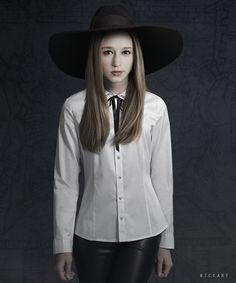 taissa farmiga I love all the hats she wears!