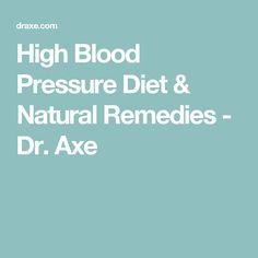 High Blood Pressure Diet & Natural Remedies - Dr. Axe