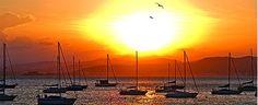 O espetáculo do nascer e do pôr do sol nas praias de Florianópolis | Notícias do Dia Florianópolis