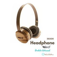 Headphone DE madeira - Fone de ouvido EM MADEIRA SUSTENTÁVEL COM alta qualidade sonora - SHY