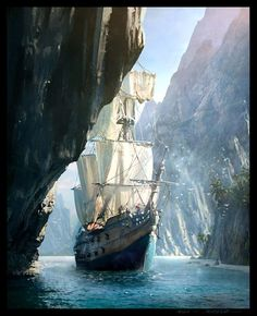 Creed IV Black Flag Concept Art by Raphael Lacoste Concept Art World Assassins Creed IV Black Flag Concept Art by Raphael LacosteConcept Art World Assassins Creed IV Black Flag Concept Art by Raphael Lacoste Assassin's Creed Black, Assassins Creed Black Flag, Fantasy World, Fantasy Art, Final Fantasy, Bateau Pirate, Pirate Art, Pirate Ships, Pirate Crafts
