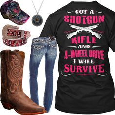 I Will Survive Outfit - Real Country Ladies