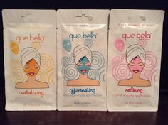 Target's Que Bella Face Masks-I love these!! They are truly amazing!what they do for your face is god sent & they're $3 each (: