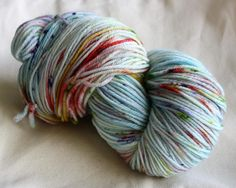 8ply DK Hand Dyed 100% Wool - Spring Riot