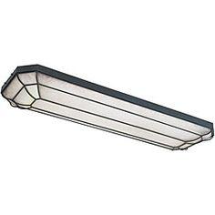 allen roth capistrano white acrylic ceiling fluorescent light rh pinterest com kitchen fluorescent light fixtures amazon kitchen fluorescent light fixtures menards