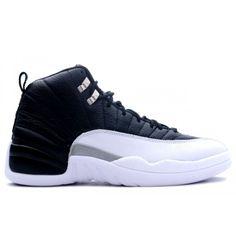 Nike Air Jordan 12 (XII) Retro- Playoffs(Black/White -Varsity Re