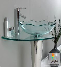 Floating Bathroom Vanities Space And Style To Spare Pinterest - Fresca cristallino glass bathroom vanity